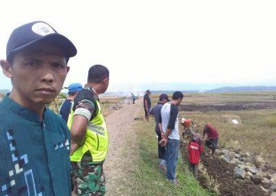Pembangunan TPT Jalan antar Desa