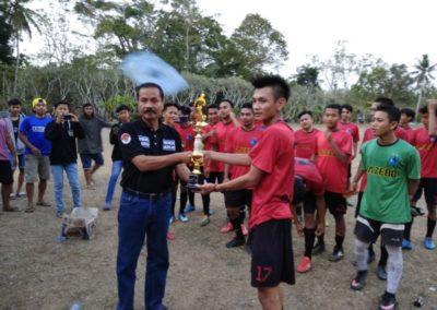 Sepak Bola Antar Desa se Kecamatan Pamarican di Desa Sidaharja