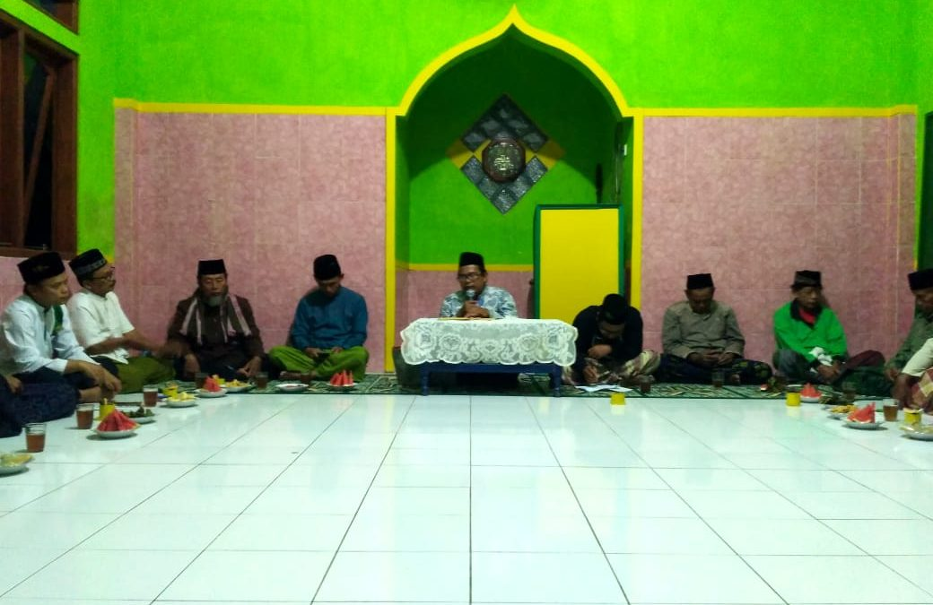 Lailatul Ijtima' Ranting NU Desa Sidaharja Pamarican